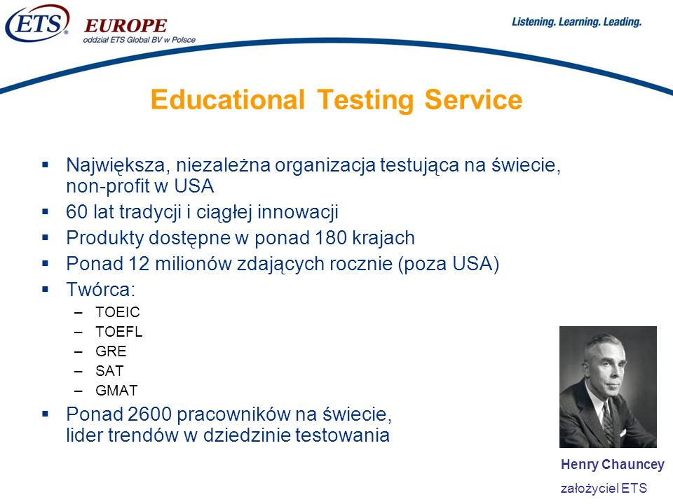 Educational Testing Service