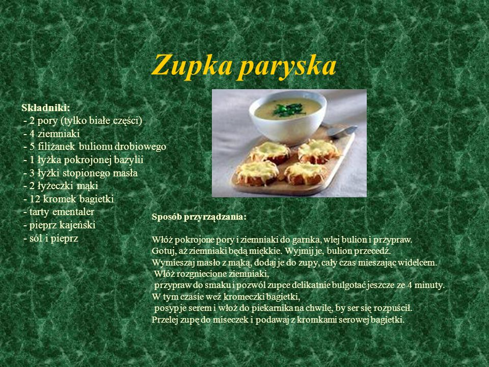 Zupka paryska