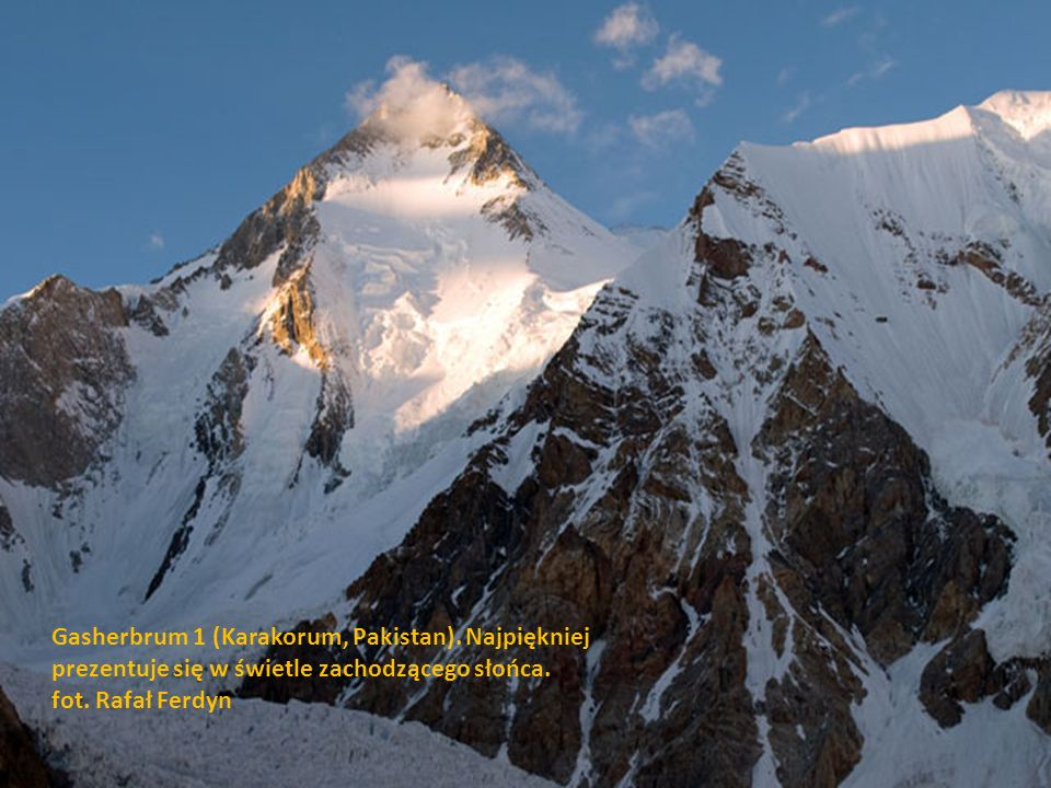Gasherbrum 1 (Karakorum, Pakistan)