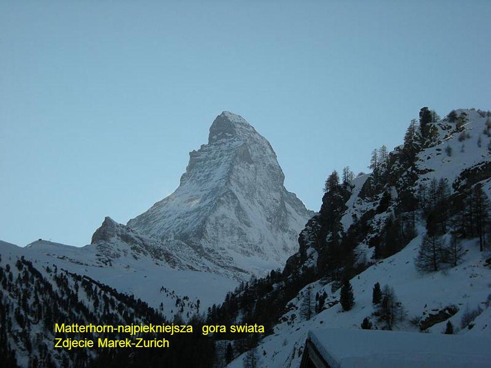 Matterhorn-najpiekniejsza gora swiata