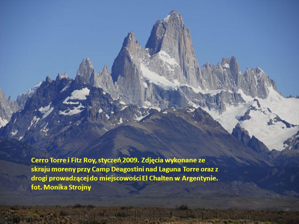 Cerro Torre i Fitz Roy, styczeń 2009
