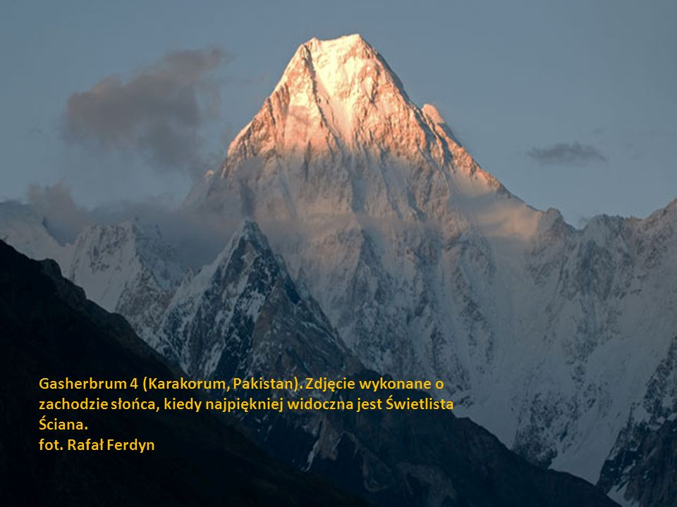 Gasherbrum 4 (Karakorum, Pakistan)