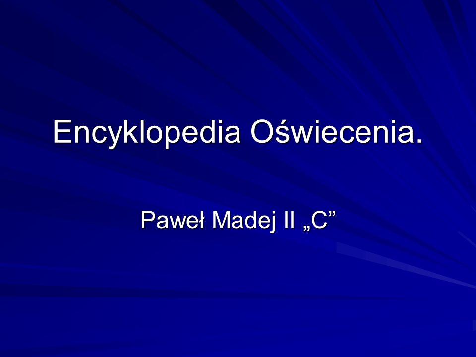 Encyklopedia Oświecenia.