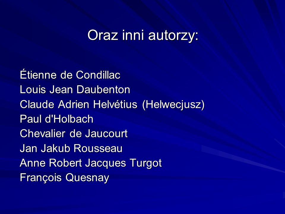 Oraz inni autorzy: Étienne de Condillac Louis Jean Daubenton