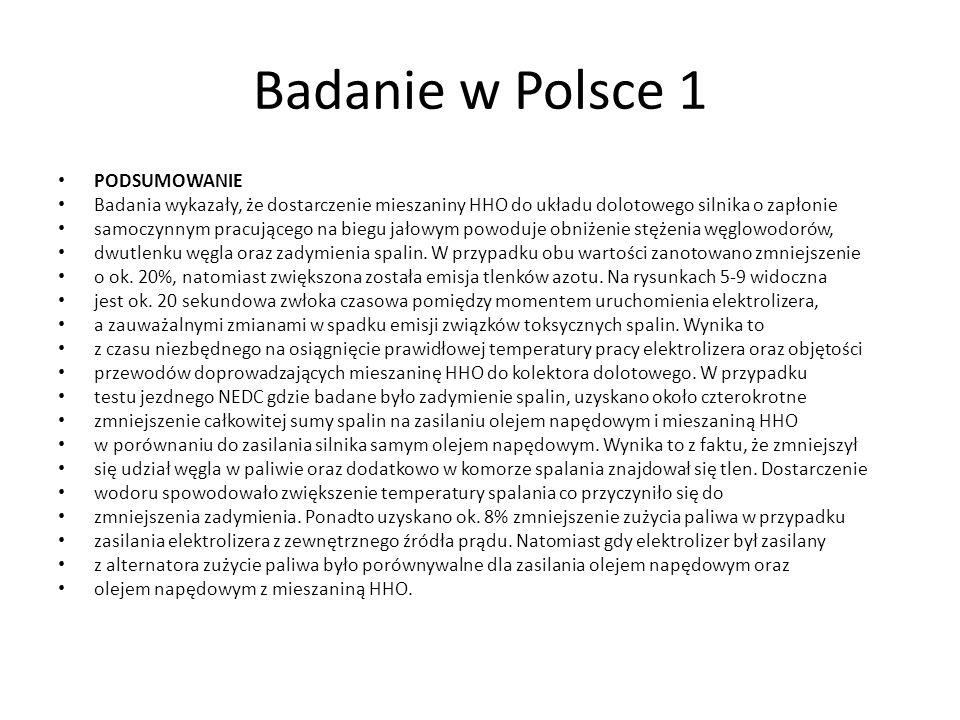 Badanie w Polsce 1 PODSUMOWANIE