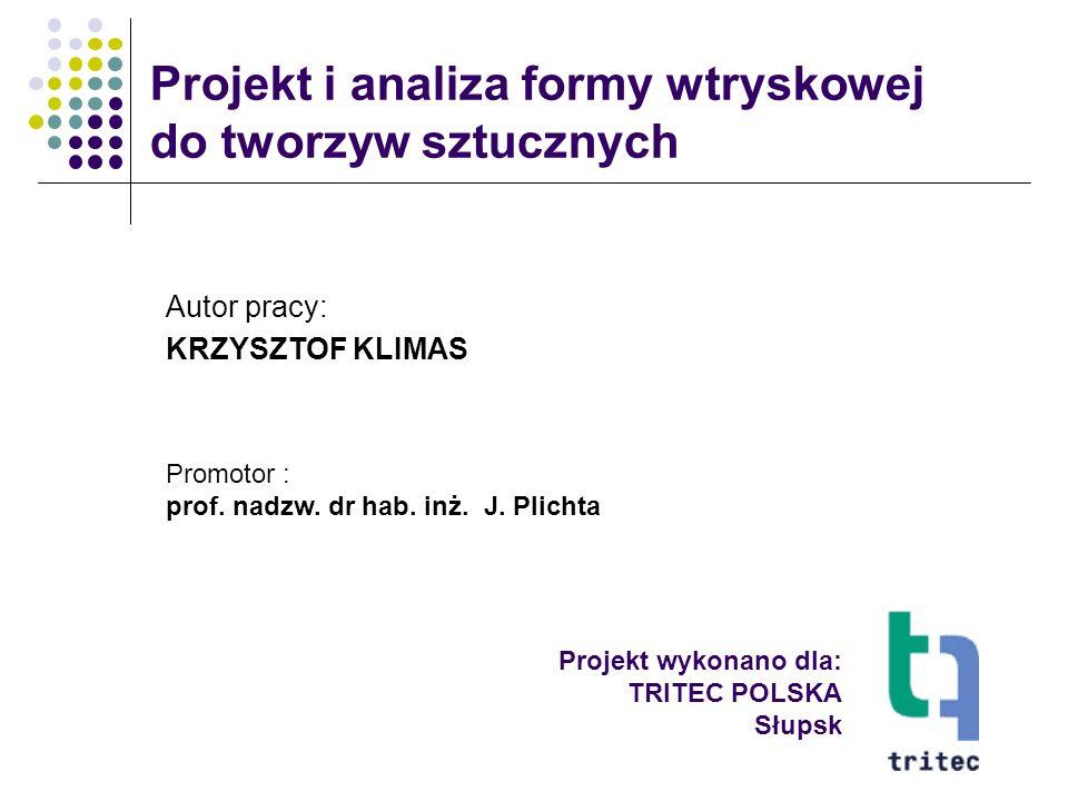 Projekt wykonano dla: TRITEC POLSKA Słupsk