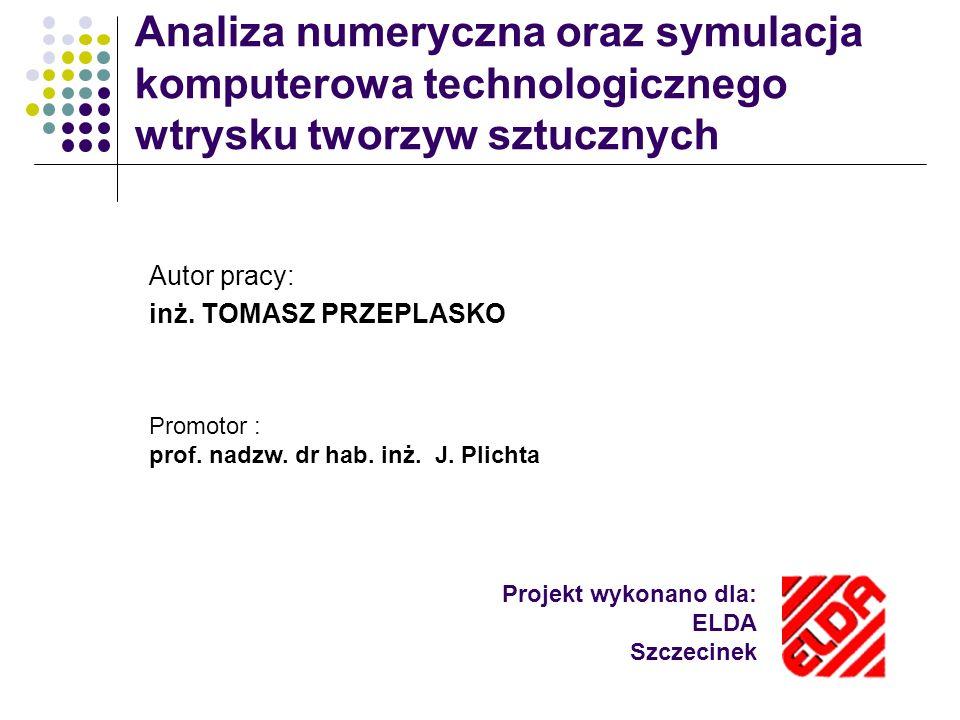 Projekt wykonano dla: ELDA Szczecinek