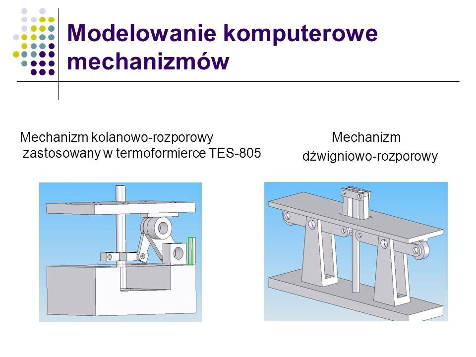 Modelowanie komputerowe mechanizmów