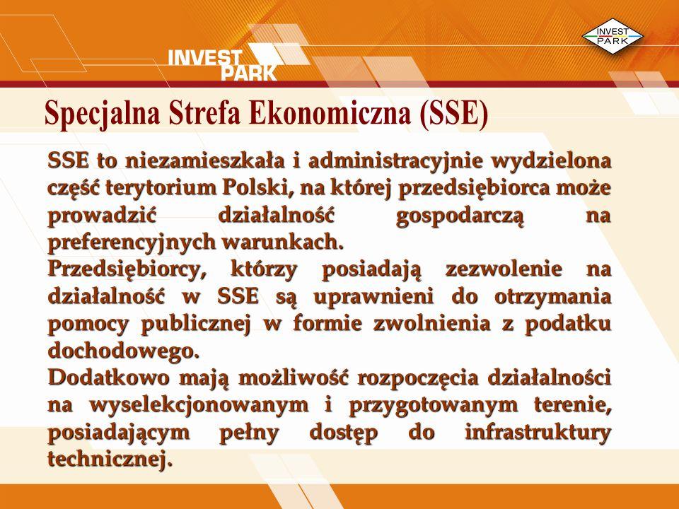 Specjalna Strefa Ekonomiczna (SSE)
