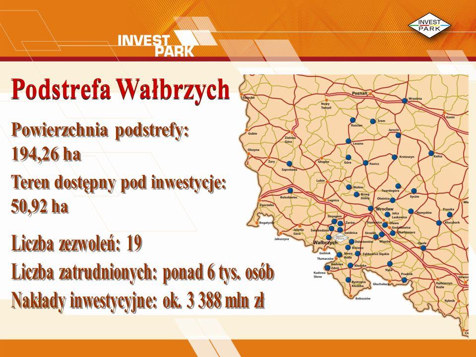 Powierzchnia podstrefy: 194,26 ha