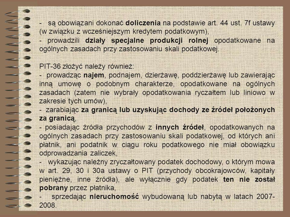 - są obowiązani dokonać doliczenia na podstawie art. 44 ust
