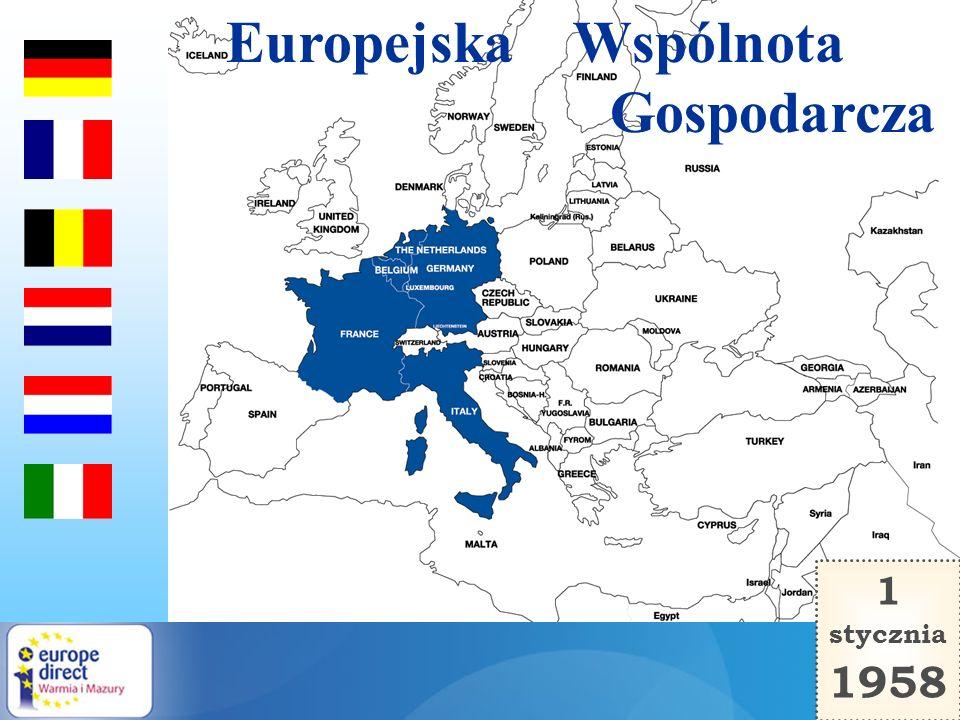 Europejska Wspólnota Gospodarcza 1 stycznia 1958