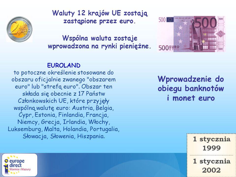 Wprowadzenie do obiegu banknotów i monet euro