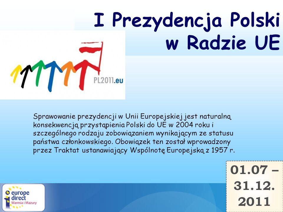 I Prezydencja Polski w Radzie UE