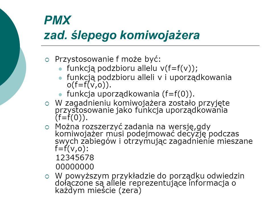 PMX zad. ślepego komiwojażera