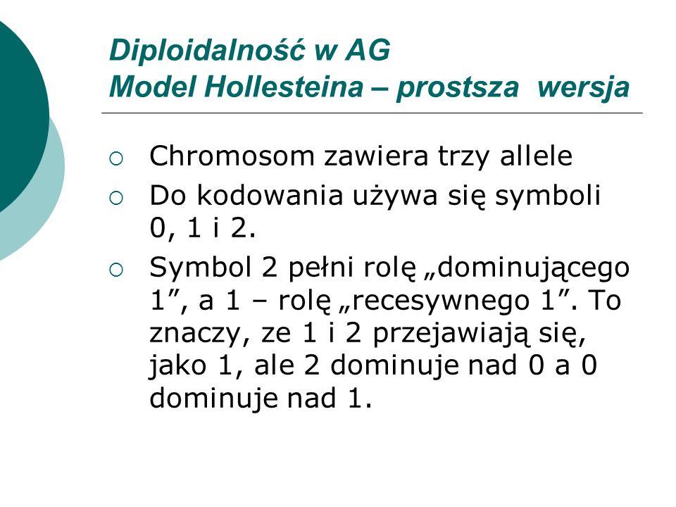 Diploidalność w AG Model Hollesteina – prostsza wersja