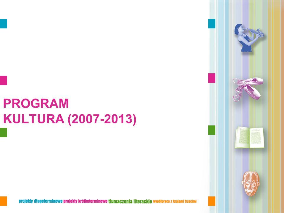 PROGRAM KULTURA (2007-2013)