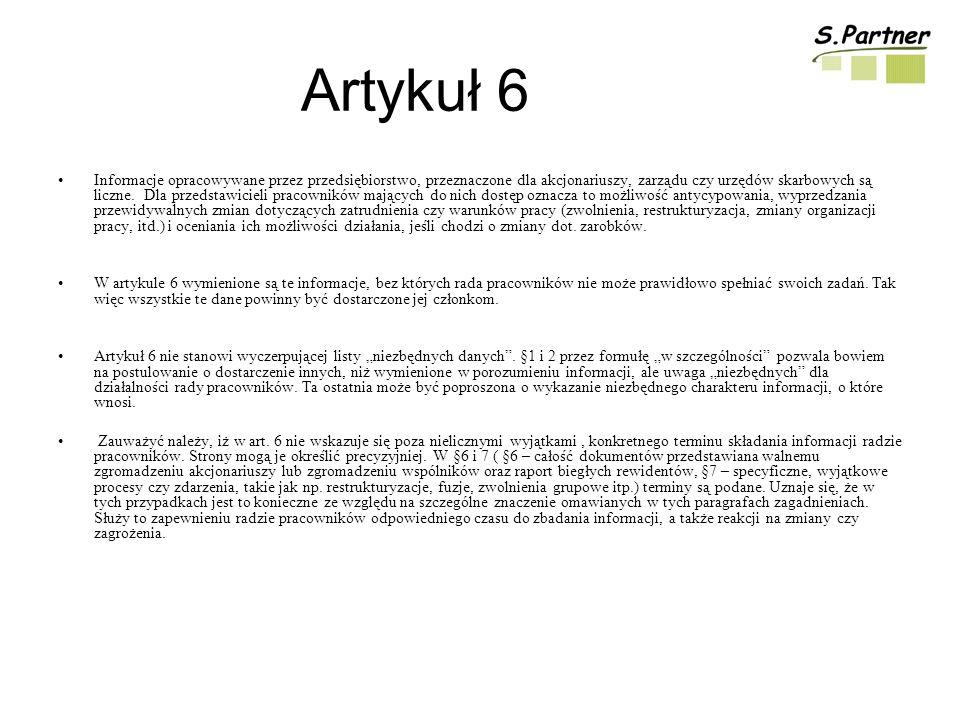 Artykuł 6