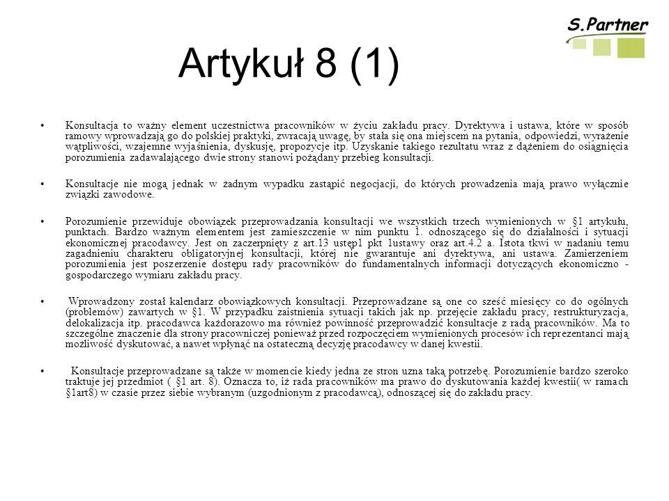 Artykuł 8 (1)