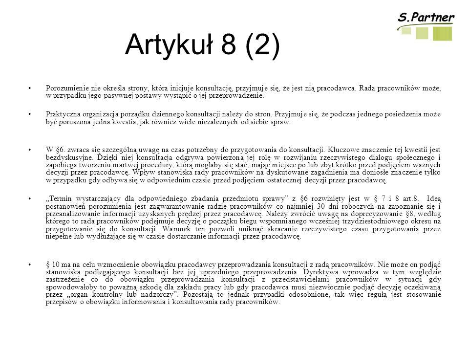 Artykuł 8 (2)