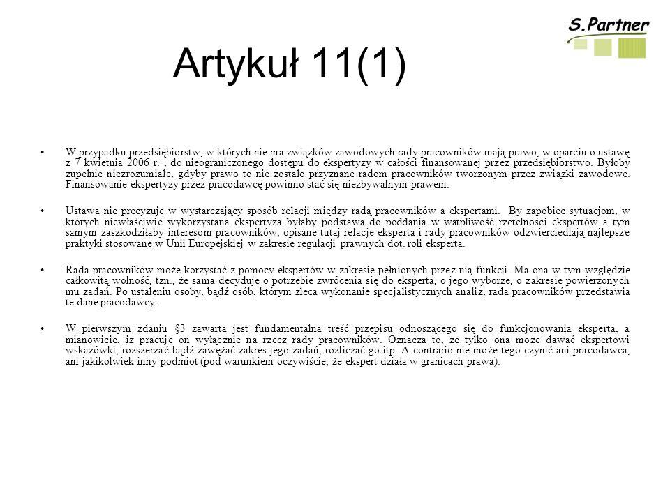Artykuł 11(1)