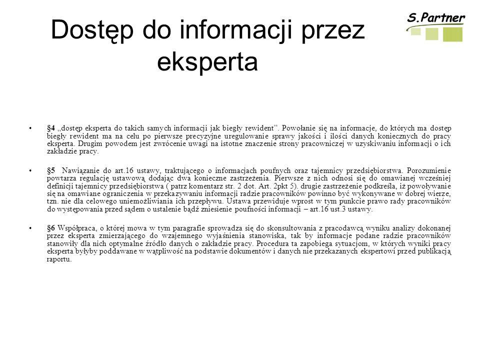 Dostęp do informacji przez eksperta