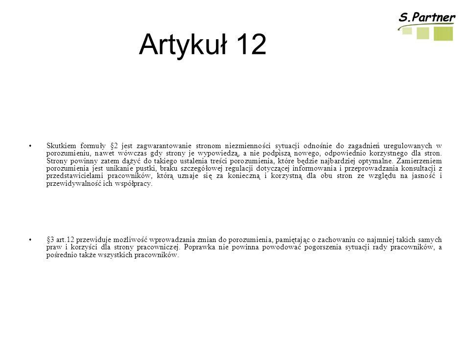 Artykuł 12