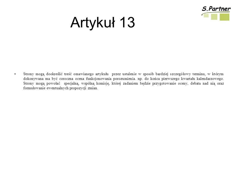 Artykuł 13