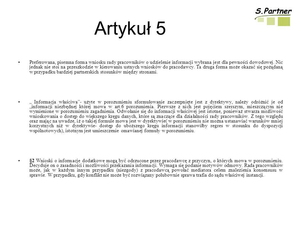 Artykuł 5