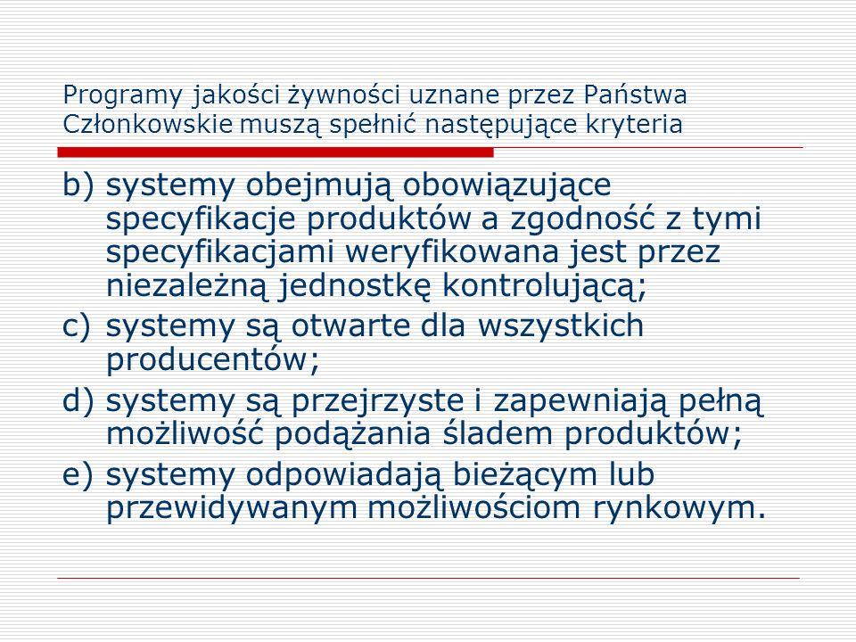 c) systemy są otwarte dla wszystkich producentów;