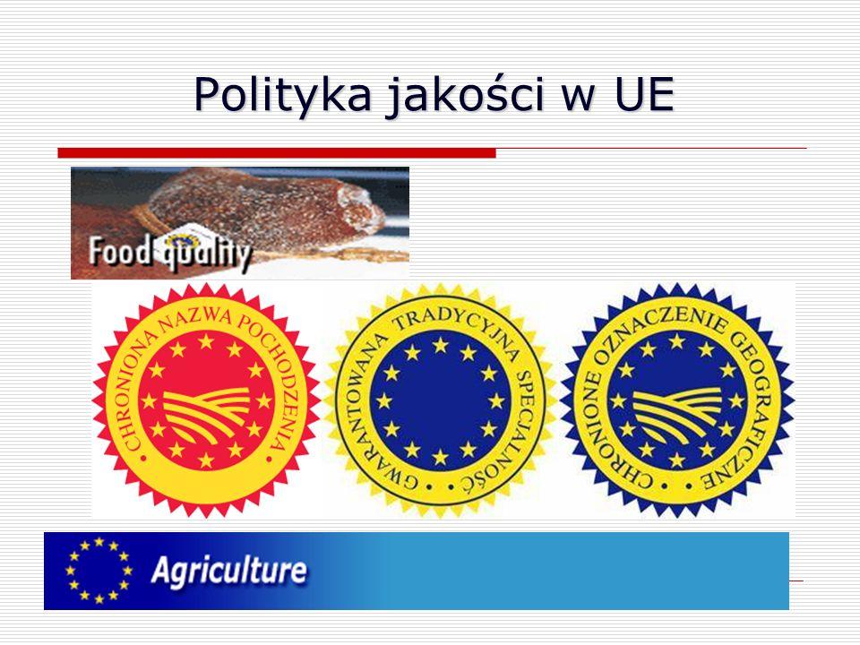 Polityka jakości w UE