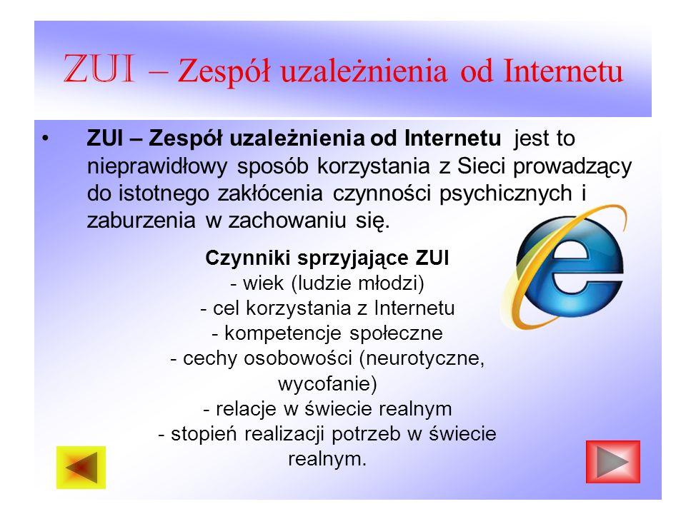 ZUI – Zespół uzależnienia od Internetu