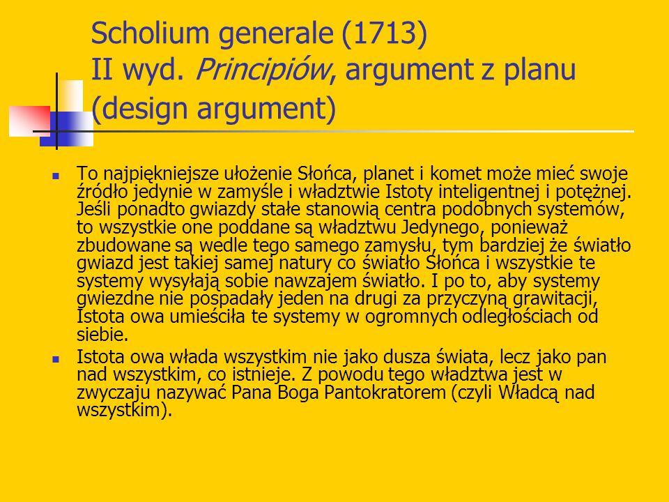 Scholium generale (1713) II wyd