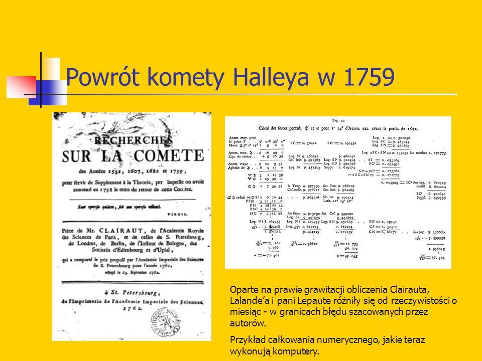 Powrót komety Halleya w 1759