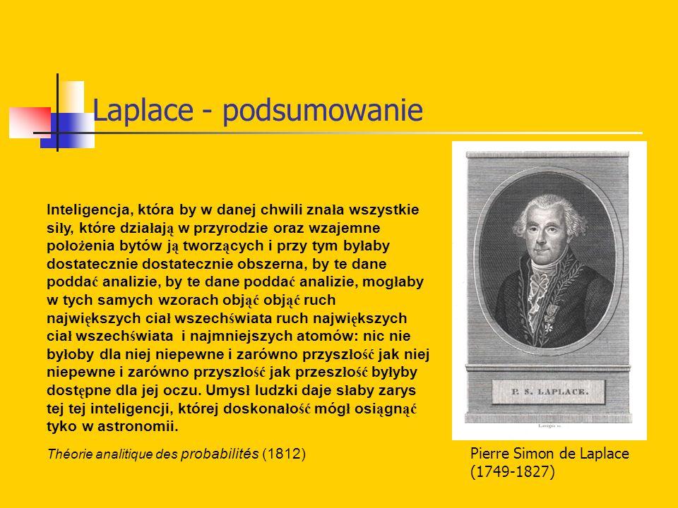 Laplace - podsumowanie