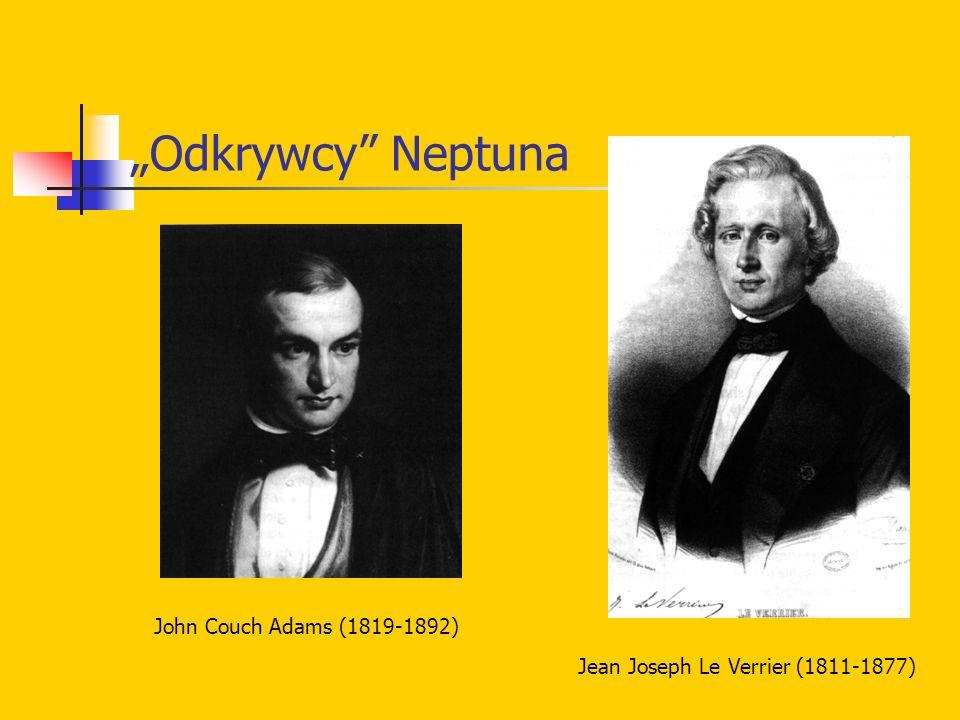 """Odkrywcy Neptuna John Couch Adams (1819-1892)"