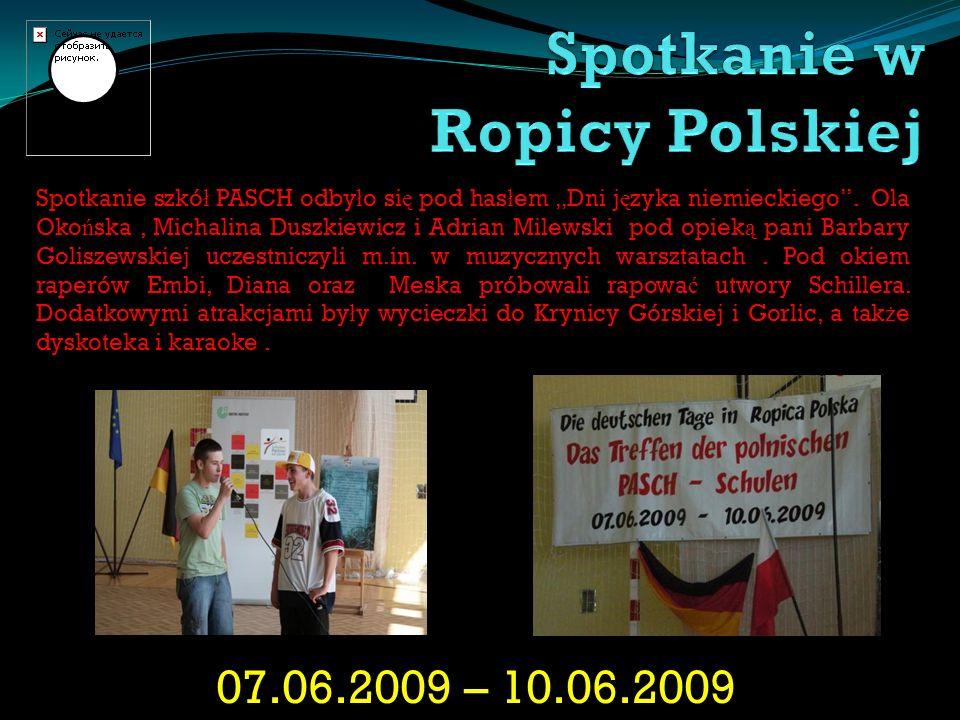 Spotkanie w Ropicy Polskiej