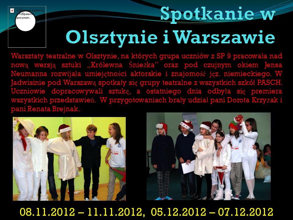 Spotkanie w Olsztynie i Warszawie