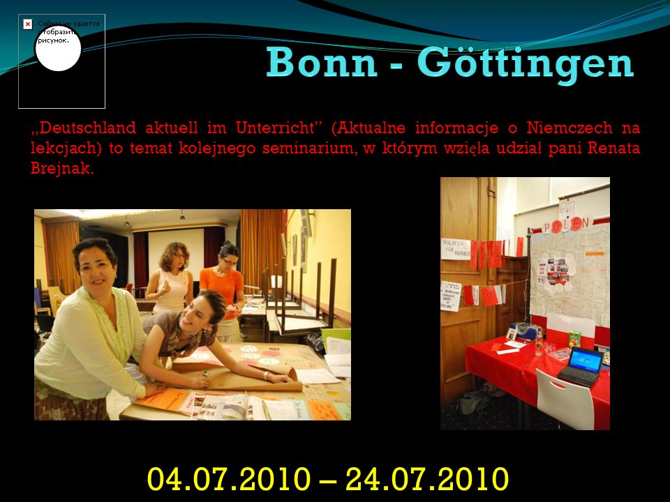 Bonn - Göttingen