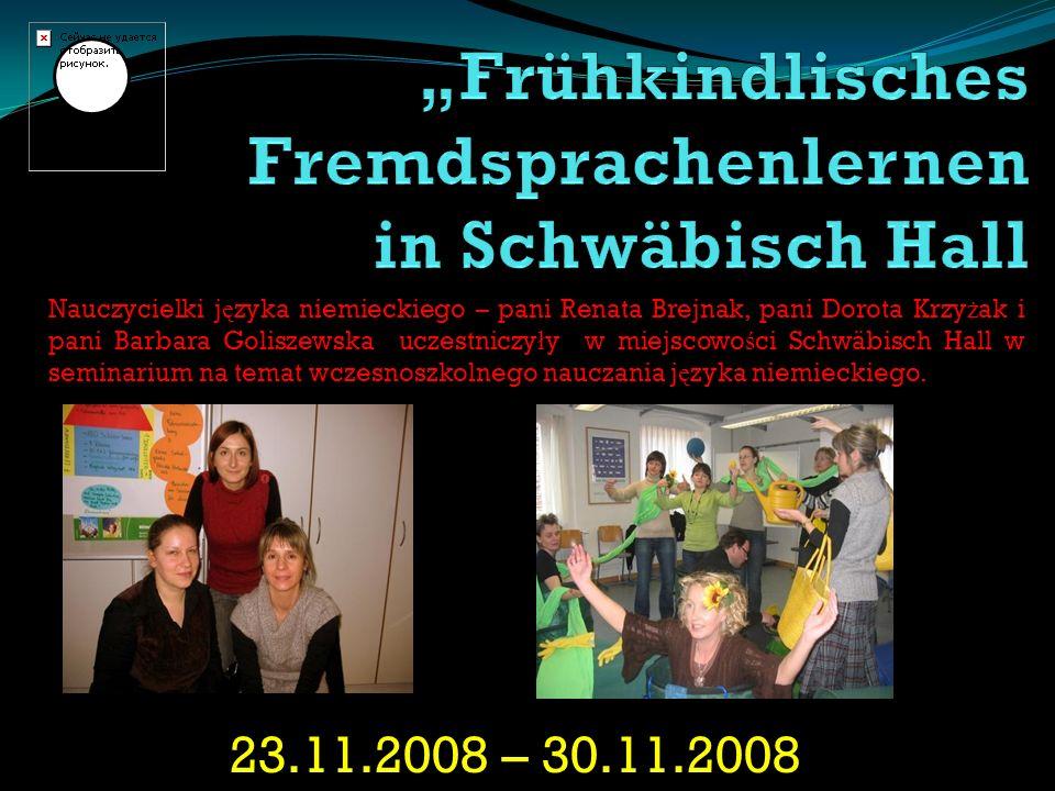 """""""Frühkindlisches Fremdsprachenlernen in Schwäbisch Hall"""