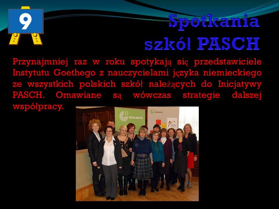 Spotkania szkół PASCH