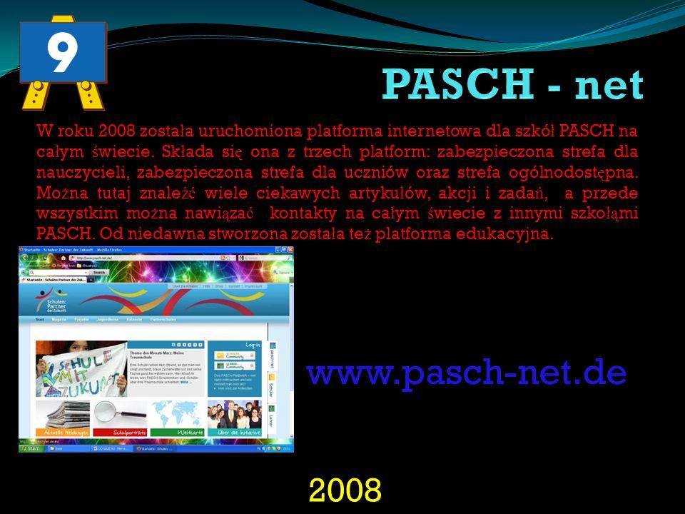 PASCH - net www.pasch-net.de 2008