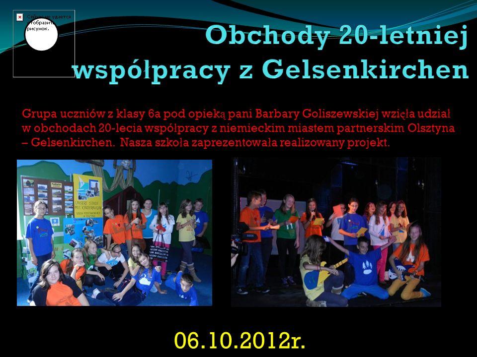 Obchody 20-letniej współpracy z Gelsenkirchen
