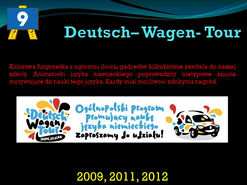 Deutsch– Wagen- Tour