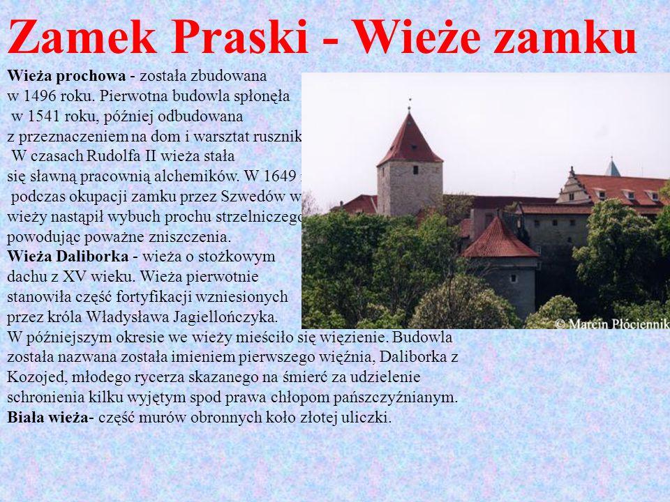Zamek Praski - Wieże zamku