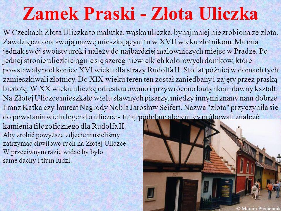 Zamek Praski - Złota Uliczka
