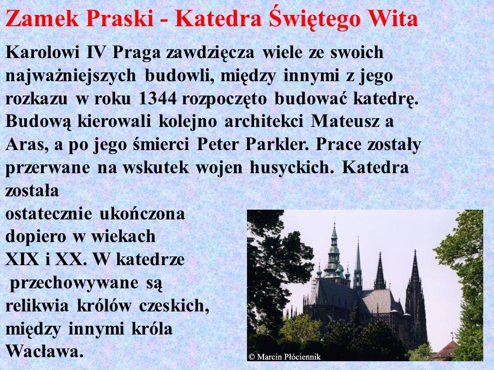 Zamek Praski - Katedra Świętego Wita