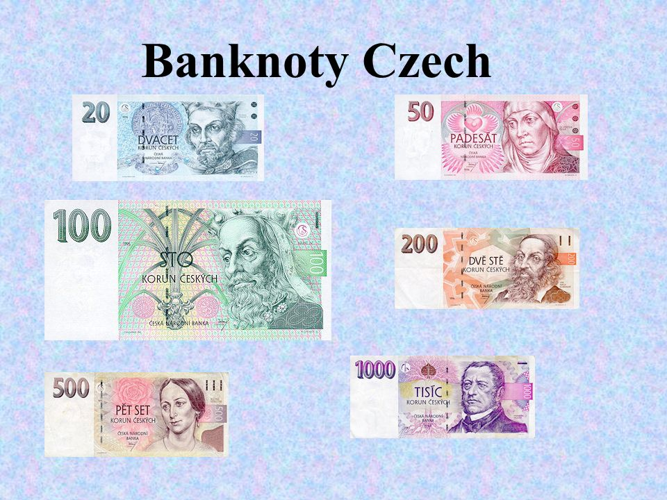 Banknoty Czech