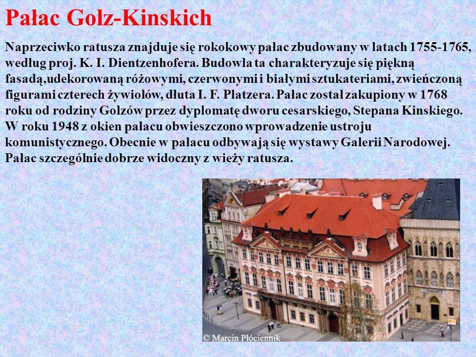 Pałac Golz-Kinskich