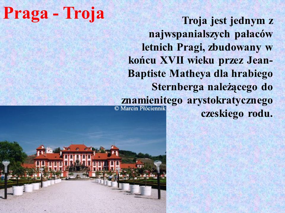 Praga - Troja